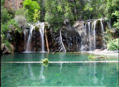 Hanging Lake near Glenwood Springs, Colorado. I love this place. Wonderful hike that is more than rewarded.