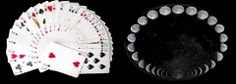Did you know????  It is considered that the pack of cards has metaphysical value. So, 52 cards mean 52 weeks in a year, 4 suits – 4 seasons, 13 cards of each suit correspond to 13 phases of a lunar cycle. The sum of all values of cards in a pack is equal 364, and together with a joker – 365, and it makes a number of all days in a year.
