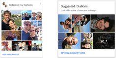 Google Photos iOS app gets new AI-powered features to highlight memories, fix sideways photos