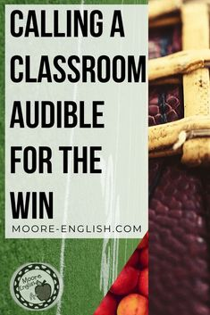 Calling Classroom Audible is part of instructional adjustment and making sure classroom instruction and lesson planning meets the needs of your students, classroom, and the current climate. To pretend that current events do not affect the classroom is to ignore the fact that teaching is political. Here are options and reasons and ideas for adjusting curricular scaffolding. #mooreenglish @moore-english.com