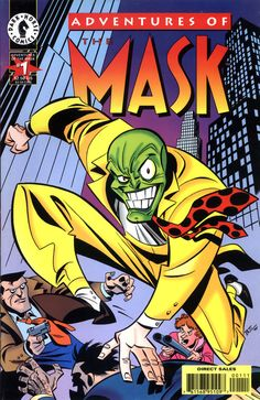 Adventures of The Mask #1, by Bruce Timm