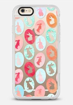 Bunny and eggs all over iPhone 6 case by maria kritzas | @casetify