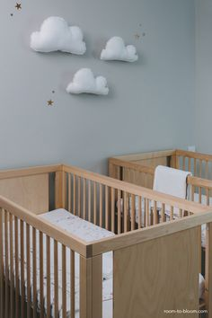 6x tips voor het inrichten van de babykamer voor een tweeling - Roomed