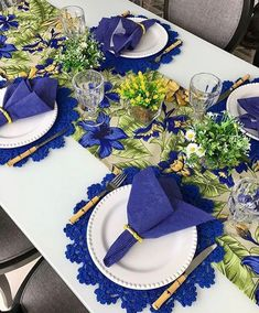 Table decorations - 58 Inpriations to Create Dusty Blue Wedding – Table decorations