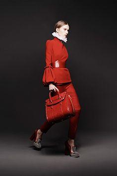 Alexander McQueen Fall 2013 Lookbook.