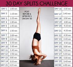 Split challenge. I wanna do this!