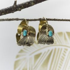 Are you interested in our Feather hoop earrings? With our Turquoise Feather Hoop Earrings you need look no further. Feather Ring, Hoop Earrings, Turquoise, Jewellery Sale, Jewelry, Handmade, Charlotte's Web, Style, Swag