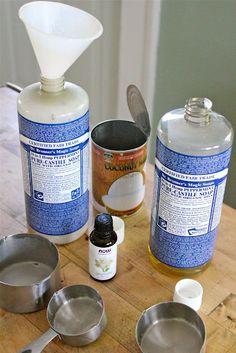 Eat Good 4 Life: Home made coconut shampoo