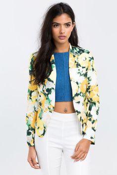 A'GACI | Sunshine Blazer | #BoutiqueFive