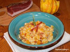 Risotto zucca e speck - ricetta primo piatto
