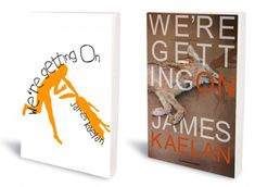 """While it might not look all that out of the ordinary, the first edition cover of We're Getting On by James Kaelan is made out of birch seed paper — so when you're finished reading it, you can plant it and make a tree."""