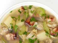 Rhode Island Clam Chowder recipe from Food Network Kitchen via Food Network