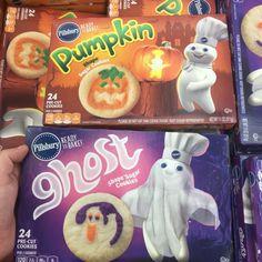 Found! Pillsbury Halloween Cookie Doughs - Snack Gator