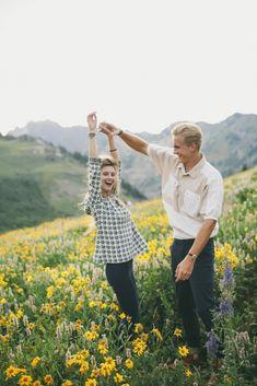 Julie + JP engagement shoot- Utah mountains » Jessica Janae Photography
