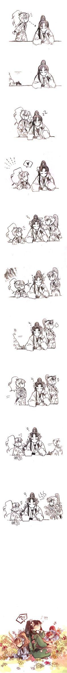 Nintama comic-Sahou Iinkai-zerochan