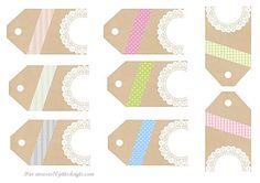 So many pretty printable tags. Free Printable Tags, Printable Paper, Printable Wall Art, Party Printables, Free Printables, Love Scrapbook, Scrapbooking, Tapas, Paper Crafts