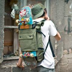 It's, umm, Bagday Thursday. Or something. #luggage http://blindchic.bigcartel.com/product/scumbag