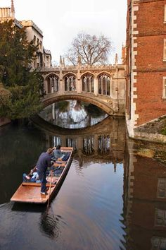 Cambridge University - Punting on the river Cam is one of my most enjoyable souvenirs.