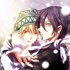 Yato and Yukine  Noragami