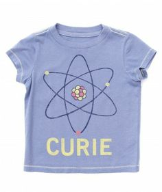 Girls Madame curie science or STEM friendly shirt