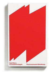 """The Communist Manifesto"" by Karl Marx and Friedrich Engels. Designed by David Pearson"