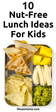 Having nut-free lunches is almost a requirement in schools now to protect kids with allergies. This is a great list to keep on hand, with links to HUNDREDS of other lunch ideas!