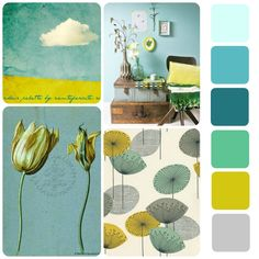 Colour palette for inspiration
