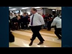 Distraction: Student vs. dean dance off
