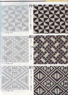 "Photo from album ""Книга узоров"" on Yandex. Knitting Charts, Knitting Stitches, Knitting Designs, Tapestry Crochet Patterns, Cross Stitch Patterns, Knitting Patterns, Crochet Chart, Filet Crochet, Knit Crochet"