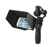 New Updated DJI Osmo Handheld 3-Axis Gimbal Accessories 5.5 Inch Foldable Mobile Phone Sunshade Sun Hood Black