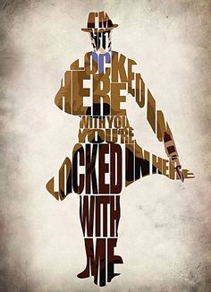 Typographic Art :: Rorschach - by GeekMyWall