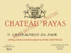 Chateau Rayas - vin : Chateau Rayas