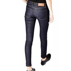 Blugi Dama YAS Supera Semi Low Skinny Indigo Indigo, Skinny, Pants, Fashion, Trouser Pants, Moda, Lean Body, La Mode, Thin Skinny