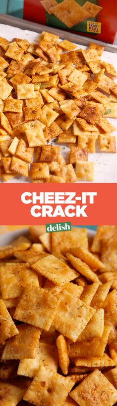 Cheez-It lovers, this simple upgrade takes your favorite snack to the next level. Get the recipe on Delish.com.