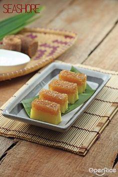 Steamed Tapioca Sago Cake Recipe 木薯沙谷椰糖糕食谱