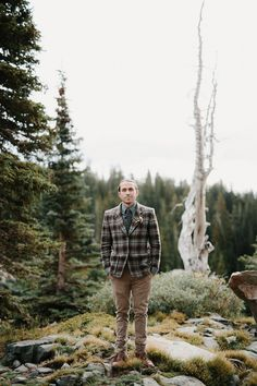 A gorgeous styled elopement shoot in the wilderness of Colorado.