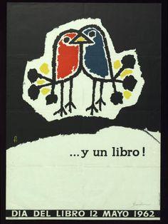 Dia del Libro : 12 mayo 1962 :: Cartells (Biblioteca de Catalunya)