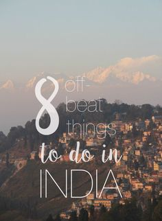 #TravelIndia 8 off-beat places in India you should not miss