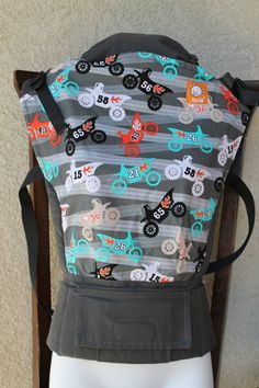 Canvas - Heavenly Hold Exclusive 'MOTORAMA' Tula Baby Carrier; Released October 2014
