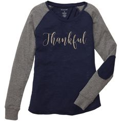 Thankful Gold Glitter Preppy Patch Shirt Thankful Shirt Thanksgiving... (191770 PYG) ❤ liked on Polyvore featuring tops, black, t-shirts, women's clothing, peace sign shirt, gold shirt, peace shirt, evening tops and special occasion tops