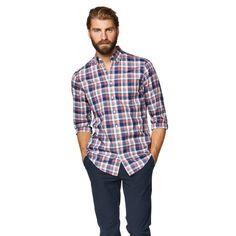 Bellboy Poplin Check Button Down Shirt Blazers For Men, Poplin, Button Down Shirt, Men Casual, Plaid, Formal, My Style, Boys, Check