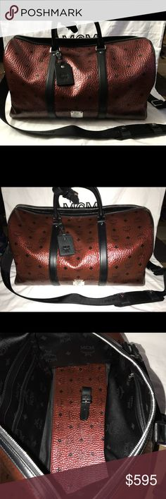 Mcm duffle New with dust bag MCM Bags Travel Bags