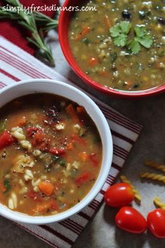 Budget-Wise, Versatile Soup - simply fresh dinners