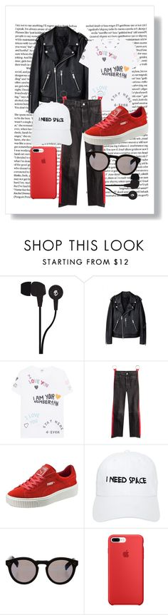 """GDGA"" by xxelectre on Polyvore featuring Skullcandy, Kenzo, Vetements, Puma, Nasaseasons, Illesteva and modern"