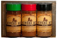 Miners Mix Rub Gift Box  Available at www.MadeInCalifornia.net