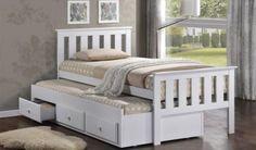 Captain Trundler Bed | Single Beds | Kids Room - furniturecity.co.nz