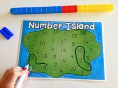 FREEBIE! Number Island: An addition activity