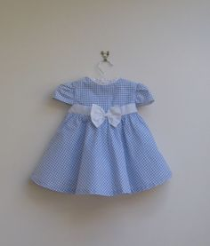 vintage gingham party dress