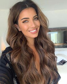 Hair Extensions Black, Chocolate and Caramel Balayage Caramel brown hair do… – Übergangsfrisuren Rich Brown Hair, Caramel Brown Hair, Brown Hair Shades, Chocolate Brown Hair Color, Long Brown Hair, Chestnut Brown Hair, Honey Caramel, Darkest Brown Hair, Mousy Brown Hair
