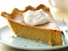 Gluten Free Classic Pumpkin Pie- getting ready for a gluten free thanksgiving!